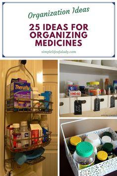 medicine organization solutions Organize Medicine, Medicine Storage, Medicine Organization, Pull Down Spice Rack, Utensil Caddy, Pill Organizer, Plastic Bowls, Cabinet Space, Door Storage