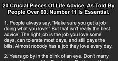 20 Crucial Pieces Of Life Advice, As Told By People Over 60. Number 11 Is Essential.