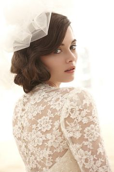 Love the lace and hair