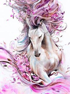 Horse pattern Full Square diamond painting cross stitch diamond embroidery painting diamond mosaic home decor(China) Horse Drawings, Animal Drawings, Art Drawings, Drawing Art, Drawing Quotes, Animal Illustrations, Cross Paintings, Original Paintings, Art Sur Toile