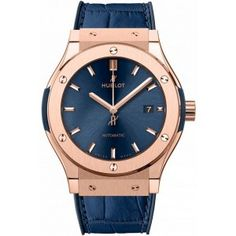 Hublot Classic Fusion 33mm Bleu King Gold 581.OX.7180.LR