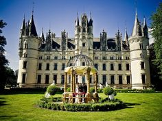 Château de Challain, France | 14 Unbelievable Places You Can Actually Rent Out |Yep, you can rent this ENTIRE castle. And with 23 bedrooms and 18 bathrooms, it actually works out to only $118ish per night per person if you sleep the full 55 people.