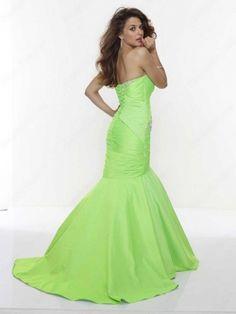 #green prom dress