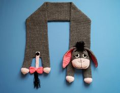 Animal Scarf – Eeyore – Eeyore Scarf Crochet Pattern – Crochet PDF Pattern – Eeyore pattern The Effective Pictures We Offer You About Crochet gifts. Crochet Bookmark Pattern, Crochet Bookmarks, Crochet Motif, Crochet Amigurumi, Crochet Toys, Crochet Baby, Knit Crochet, Free Knitting, Knitting Patterns