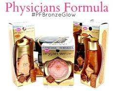 Physicians Formula Bronzes Me in ALL THE WAYS. Find out how PLUS enter a giveaway! #PFBronzeGlow #WalmartGlam #ad