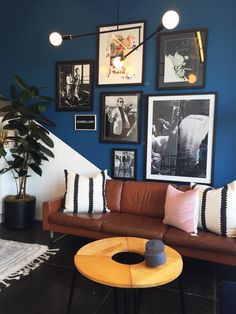 Field Trip: Melrose Design District (Justina Blakeney - The Jungalow) Apartment Interior Design, Interior Exterior, Living Room Decor, Living Spaces, Anthropologie Home, Beautiful Places To Live, Gypsy Decor, Bed Wall, Blue Rooms
