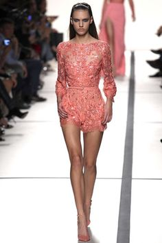 Paris Fashion Show of Elie Saab