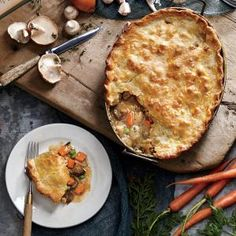 Chicken Mushroom Potpie | MyRecipes.com