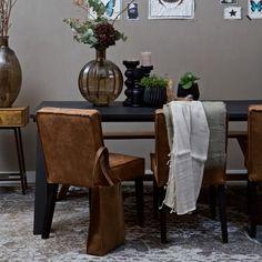 Be Pure Rodeo stoel. De #stoel van #BePure heeft een moderne en tegelijkertijd natuurlijke look die prachtig in ieder interieur past! #stoelen #design #Flinders