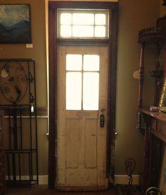 Nice transom door (transom on Pittsburgh row houses; maximizing window space)