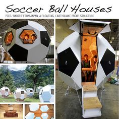 Soccer Ball House - pretty awesome. http://scraphacker.com/soccer-diy/