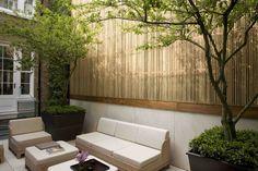 Simple & elegant courtyard. Pinned to Garden Design - Courtyards by BASK Landscape Design.