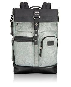 Tumi Alpha Bravo Luke Roll-Top Backpack, Greystone * More info could be found at the image url.