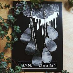 Pisara-earrings, all storm | Weecos
