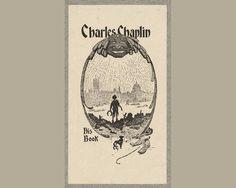 Charlie Chaplin | 35 Bookplates Belonging To FamousPeople, Books
