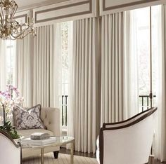 designer fabrics and custom window treatments shipping to you. Message us for personal assistanceEye Candy. designer fabrics and custom window treatments shipping to you. Message us for personal assistance French Door Coverings, Window Coverings, Window Cornices, Box Valance, Cornice Box, Window Drapes, Modern Curtains, Curtains With Blinds, Drapery Panels
