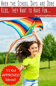 Dying to have fun this summer, but strapped for cash? Here are some ideas for help you have some inexpensive fun with the #kids all #summer long.