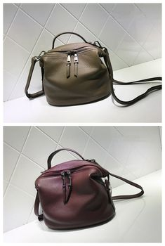 Women Fashion Leather Bag Handbag Messenger Bag Shoulder Bag Cross Body Bag AM05 Overview: Design: Women Fashion Handbag In Stock: 3-5 days For Making Include: Only Handbag Color: Wine Red, Khaki, Gre