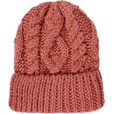 Accessorize Diamond Cable Beanie (€29) ❤ liked on Polyvore featuring accessories, hats, cable hat, diamond beanie, cable knit hat, ribbed beanie and beanie hat