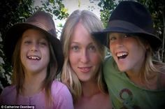 India (center) is the eldest of Oxenberg's three daughters. She has never publicized who ...
