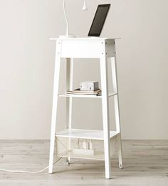 Standing laptop station in IKEA Catalog 2015  I WANT SOMETHING LIKE THIS DOESNT HAVE TO BE IKEA.