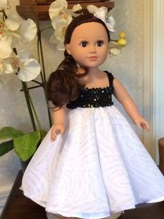 18 Doll Dress /Fits American Girl Doll by SewingSmallPieces