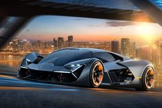 Lamborghini and MIT team up to create the self-healing supercar of the future