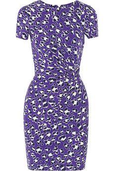 Diane von Furstenberg Zoe wrap-effect stretch-jersey dress | THE OUTNET