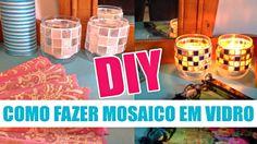 Curso de mosaico 4 | Como fazer mosaico em vidro | DIY