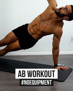 Fitness Workouts, Abs And Cardio Workout, Home Workout Men, Gym Workout Chart, Workout Routine For Men, Gym Workout Videos, Gym Workout For Beginners, Weight Training Workouts, Ripped Workout