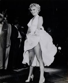 Marilyn Monroe in the 'Seven Year Itch', 1955