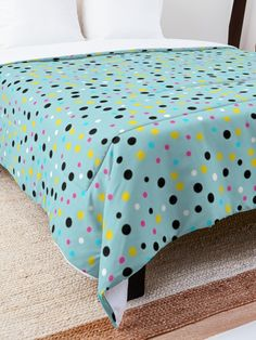 'Mixed Dot Design' Comforter by Shane Simpson College Dorm Rooms, College Dorm Bedding, Dots Design, Make Your Bed, Square Quilt, Twin Xl, Quilt Patterns, Comforters, Blanket