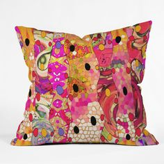 Ingrid Padilla Whimsyeye Outdoor Throw Pillow | DENY Designs Home Accessories