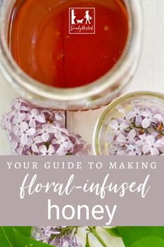 I love adding floral tastes to my honey. Especially lilac honey! And especially if I'm making my favorite cup of tea (more about that in this article too). Learn how to make floral-infused honey in your own kitchen. #floralhoney #favoritecupoftea #lilachoney
