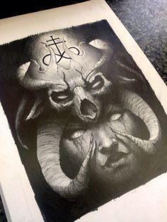 satanic by AndreySkull on @DeviantArt