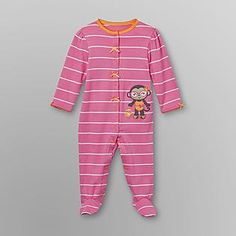 a5ca242b413f Little Wonders- -Infant Girl's Footed Sleeper Pajamas Girl Clothing, Pajamas,  Infant,