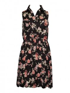 Rose and Lilac Floral Amanda Lovestruck Dress - Clothing