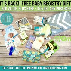 Freebies are Back! Get your baby welcome kit valued at $50 in samples and savings! See how to grab one now just GO to link in my bio @tomorrowsmom for details . . . . Visit My Blog: TomorrowsMom.com |Organic & Natural Deals|Family Savings Deals| . TAG OR DM THIS DEAL 2 A FRIEND . . #frugal #savings #deals #cosmicmothers  #organic #fitmom #health101 #change #nongmo #organiclife #crunchymama #organicmom #gmofree #organiclifestyle #familysavings  #healthyhabits #lifechanging #fitpeople…