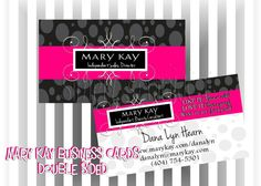 Mary Kay Business Card DIY Printable by Simply by SimplySprinkled, $13.00