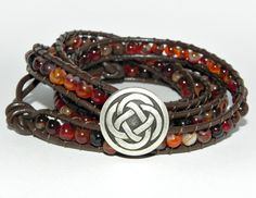 The Galway Girl, 4 Wrap Bracelet by Secretvixen.deviantart.com on @deviantART