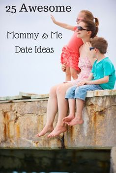 Tired of feeling like a drill sergeant with the kids all the time? Mommy and me dates are a fun way to bond with your children and get that one-on-one time that often gets pushed aside due to hectic schedules. There are plenty of ways in which you and your kids can have a ball without even needing to leave the house or spend a lot of money. Check out the following guide for mommy and me date ideas and keep following eBay for more tips!