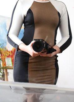 Kaufe meinen Artikel bei #Kleiderkreisel http://www.kleiderkreisel.de/damenmode/abendkleider/116810288-silvesterkleid-bodycon-bandage-kleid-schwarz-gold-weiss-langarm
