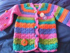 Tejidos Crochet Saco Vestido Tunica Calado Con Flores Picture