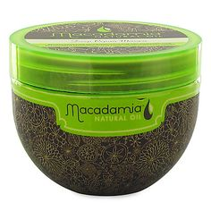 Macadamia Natural Oil Deep Repair Masque is a revitalizing hair reconstructor for dry, damaged hair.  Features:  *Leaves hair deeply nourished  *Improves elasticity and shine  *Provides long lasting conditioning benefits  *Repairs dry, damaged hair  *Rejuvenates and rebuilds the hair  *Infused with macadamia oil, argan oil, tea tree oil, chamomile oil, aloe and algae extracts