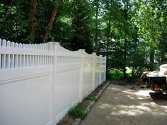 privacy vinyl with picket topseegars fence co
