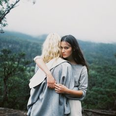 Sharnee Gates and Eilika Meckbach by James Whineray for Celeste Tesoriero