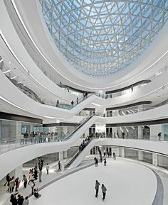 Galaxy Soho, Beijing | China  Zaha Hadid | Photos by Iwan Baan