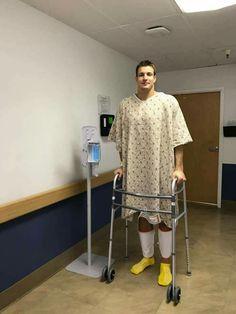 Get well soon Gronk