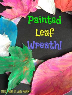 Painted fall leaf wr