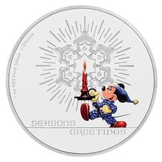 Perth Mint New Releases: Disney Season's Greetings Classic - Silver Proof Coin - Coin Community Forum - POSPO Investments Coin Store, Coin Design, Gold And Silver Coins, Mint Coins, Proof Coins, Gold Bullion, World Coins, Coin Collecting, 1 Oz